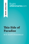 This Side of Paradise by F. Scott Fitzgerald (Book Analysis) - eBook