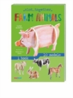 Slot Together: Farm Animals - Book
