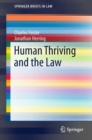 Human Thriving and the Law - eBook