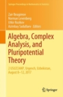 Algebra, Complex Analysis, and Pluripotential Theory : 2 USUZCAMP, Urgench, Uzbekistan, August 8-12, 2017 - eBook