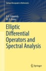 Elliptic Differential Operators and Spectral Analysis - eBook