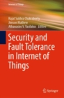 Security and Fault Tolerance in Internet of Things - eBook