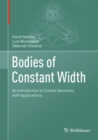 Bodies of Constant Width : An Introduction to Convex Geometry with Applications - eBook