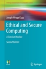 Ethical and Secure Computing : A Concise Module - Book