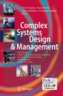 Complex Systems Design & Management : Proceedings of the Ninth International Conference on Complex Systems Design & Management, CSD&M Paris 2018 - Book