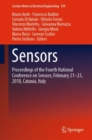 Sensors : Proceedings of the Fourth National Conference on Sensors, February 21-23, 2018, Catania, Italy - eBook