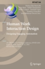 Human Work Interaction Design. Designing Engaging Automation : 5th IFIP WG 13.6 Working Conference, HWID 2018, Espoo, Finland, August 20 - 21, 2018, Revised Selected Papers - eBook