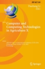 Computer and Computing Technologies in Agriculture X : 10th IFIP WG 5.14 International Conference, CCTA 2016, Dongying, China, October 19-21, 2016, Proceedings - eBook