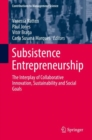 Subsistence Entrepreneurship : The Interplay of Collaborative Innovation, Sustainability and Social Goals - eBook