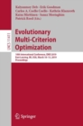 Evolutionary Multi-Criterion Optimization : 10th International Conference, EMO 2019, East Lansing, MI, USA, March 10-13, 2019, Proceedings - eBook