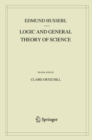 Logic and General Theory of Science - eBook