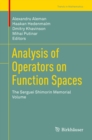 Analysis of Operators on Function Spaces : The Serguei Shimorin Memorial Volume - eBook