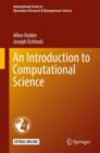 An Introduction to Computational Science - Book