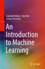An Introduction to Machine Learning - Book