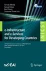 e-Infrastructure and e-Services for Developing Countries : 10th EAI International Conference, AFRICOMM 2018, Dakar, Senegal, November 29-30, 2019, Proceedings - eBook