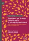 Governance and Strategic Philanthropy in Grant-Making Foundations : How to Improve the Effectiveness of Nonprofit Boards - eBook