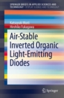 Air-Stable Inverted Organic Light-Emitting Diodes - eBook