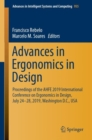 Advances in Ergonomics in Design : Proceedings of the AHFE 2019 International Conference on Ergonomics in Design, July 24-28, 2019, Washington D.C., USA - Book