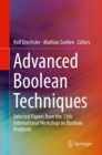 Advanced Boolean Techniques : Selected Papers from the 13th International Workshop on Boolean Problems - Book