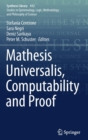 Mathesis Universalis, Computability and Proof - Book