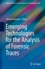Emerging Technologies for the Analysis of Forensic Traces - eBook