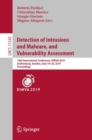 Detection of Intrusions and Malware, and Vulnerability Assessment : 16th International Conference, DIMVA 2019, Gothenburg, Sweden, June 19-20, 2019, Proceedings - Book