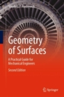 Geometry of Surfaces : A Practical Guide for Mechanical Engineers - Book