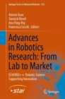 Advances in Robotics Research: from Lab to Market : Echord++: Robotic Science Supporting Innovation - Book