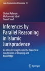 Inferences by Parallel Reasoning in Islamic Jurisprudence : Al-Shirazi's Insights into the Dialectical Constitution of Meaning and Knowledge - Book
