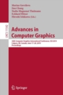 Advances in Computer Graphics : 36th Computer Graphics International Conference, CGI 2019, Calgary, AB, Canada, June 17-20, 2019, Proceedings - Book
