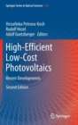 High-Efficient Low-Cost Photovoltaics : Recent Developments - Book