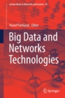 Big Data and Networks Technologies - Book
