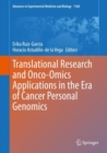 Translational Research and Onco-Omics Applications in the Era of Cancer Personal Genomics - Book