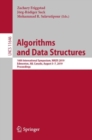 Algorithms and Data Structures : 16th International Symposium, WADS 2019, Edmonton, AB, Canada, August 5-7, 2019, Proceedings - Book