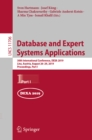 Database and Expert Systems Applications : 30th International Conference, DEXA 2019, Linz, Austria, August 26-29, 2019, Proceedings, Part I - eBook