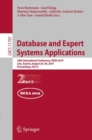 Database and Expert Systems Applications : 30th International Conference, DEXA 2019, Linz, Austria, August 26-29, 2019, Proceedings, Part II - eBook