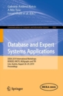 Database and Expert Systems Applications : DEXA 2019 International Workshops BIOKDD, IWCFS, MLKgraphs and TIR, Linz, Austria, August 26-29, 2019, Proceedings - eBook