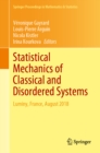 Statistical Mechanics of Classical and Disordered Systems : Luminy, France, August 2018 - eBook