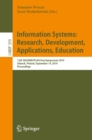 Information Systems: Research, Development, Applications, Education : 12th SIGSAND/PLAIS EuroSymposium 2019, Gdansk, Poland, September 19, 2019, Proceedings - eBook