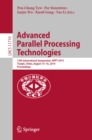 Advanced Parallel Processing Technologies : 13th International Symposium, APPT 2019, Tianjin, China, August 15-16, 2019, Proceedings - eBook