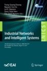 Industrial Networks and Intelligent Systems : 5th EAI International Conference, INISCOM 2019, Ho Chi Minh City, Vietnam, August 19, 2019, Proceedings - eBook