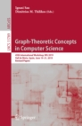 Graph-Theoretic Concepts in Computer Science : 45th International Workshop, WG 2019, Vall de Nuria, Spain, June 19-21, 2019, Revised Papers - eBook
