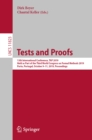Tests and Proofs : 13th International Conference, TAP 2019, Held as Part of the Third World Congress on Formal Methods 2019, Porto, Portugal, October 9-11, 2019, Proceedings - eBook