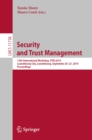 Security and Trust Management : 15th International Workshop, STM 2019, Luxembourg City, Luxembourg, September 26-27, 2019, Proceedings - eBook