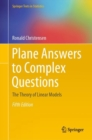 Plane Answers to Complex Questions : The Theory of Linear Models - eBook
