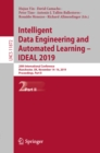 Intelligent Data Engineering and Automated Learning - IDEAL 2019 : 20th International Conference, Manchester, UK, November 14-16, 2019, Proceedings, Part II - eBook