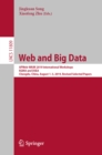 Web and Big Data : APWeb-WAIM 2019 International Workshops, KGMA and DSEA, Chengdu, China, August 1-3, 2019, Revised Selected Papers - eBook