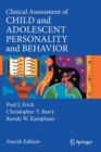 Clinical Assessment of Child and Adolescent Personality and Behavior - Book