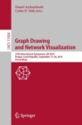 Graph Drawing and Network Visualization : 27th International Symposium, GD 2019, Prague, Czech Republic, September 17-20, 2019, Proceedings - eBook