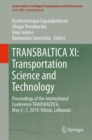 TRANSBALTICA XI: Transportation Science and Technology : Proceedings of the International Conference TRANSBALTICA, May 2-3, 2019, Vilnius, Lithuania - eBook